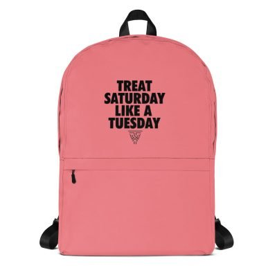 Statement Pink (Black) Backpack